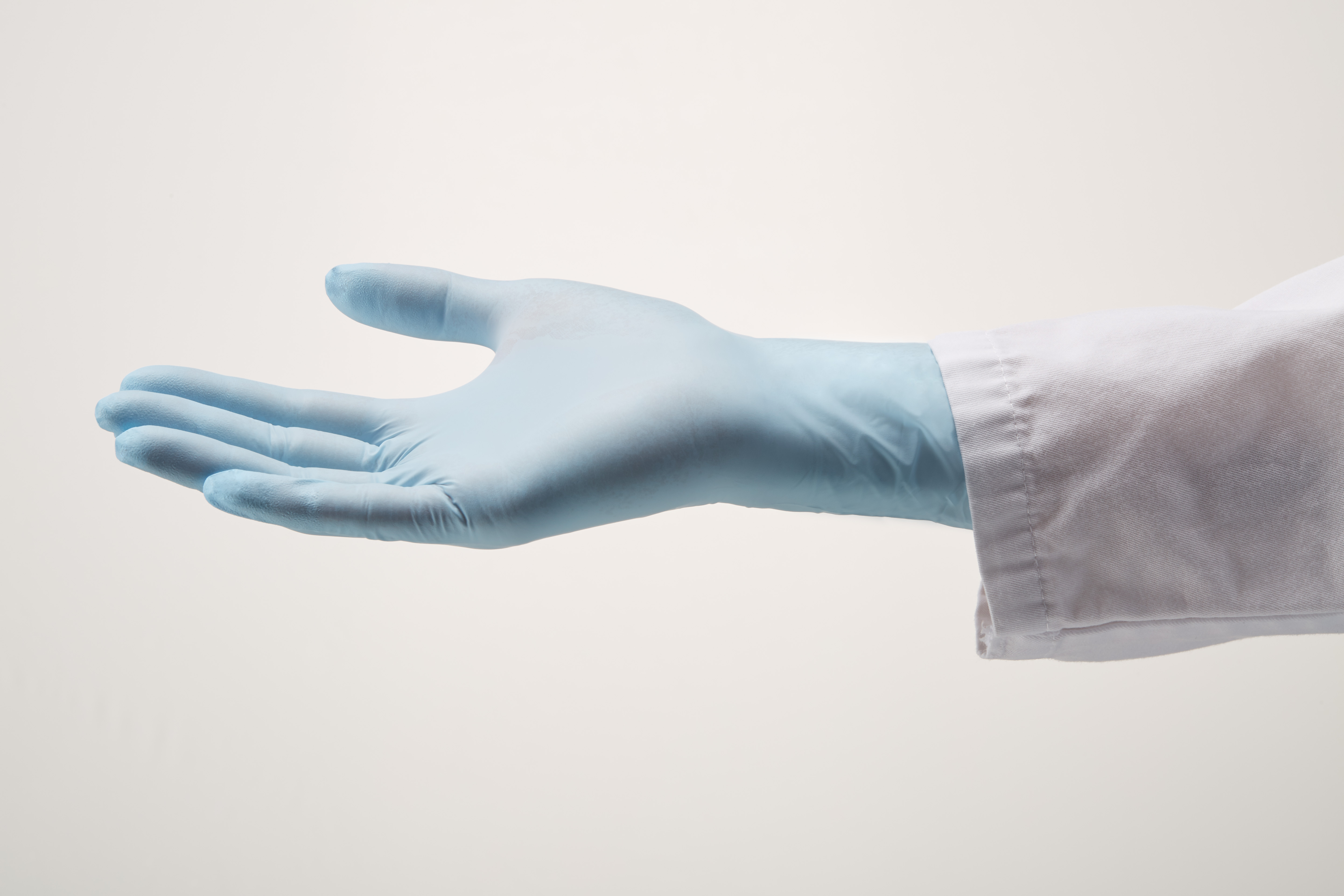 StarGuard COMFORT (feels like Latex)  Nitrile Gloves, Powder Free, Blue, Size XS, Pk/ 10 x 250 gloves
