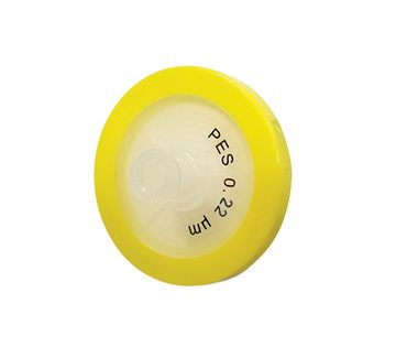 0.45µm Syringe Filter, PVDF (Sterile), Yellow, diam. 33 mm